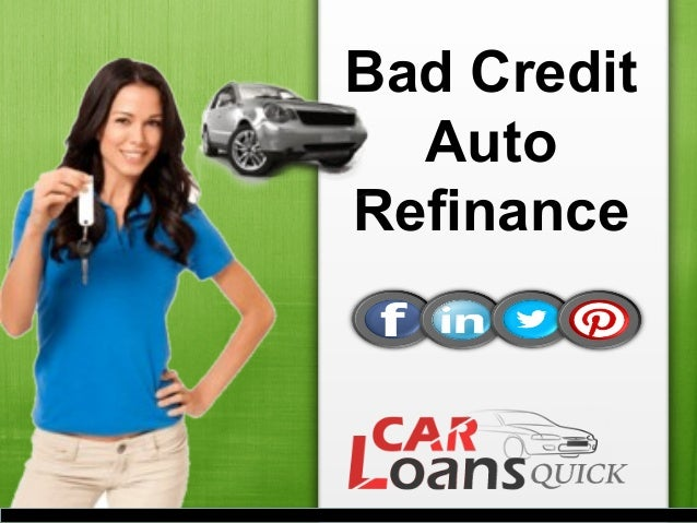 How To Apply Auto Refinance Loans For People With Bad