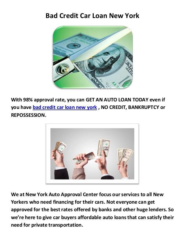 New York Auto Loans : Bad Credit Car Loan New York