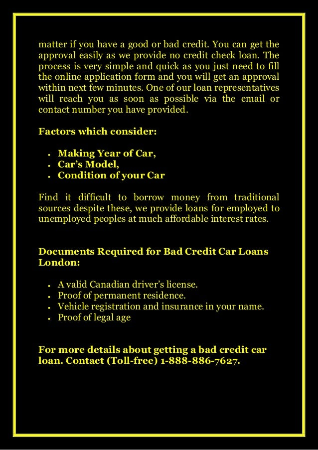 How cash troubles fixed? Online Apply on Bad Credit Car Loans London Slide 3
