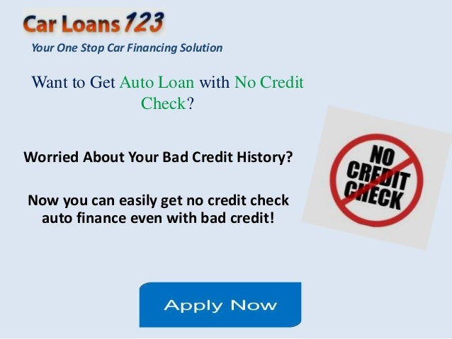 I Want A New Car But My Credit Is Bad