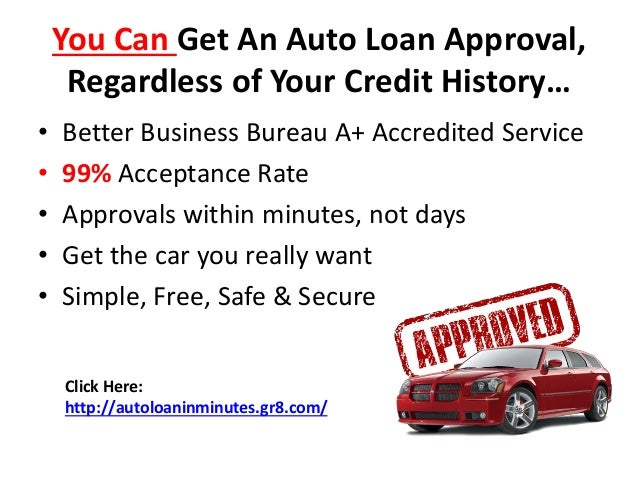 Bad Credit Car Loans With A 99% Acceptance Rate