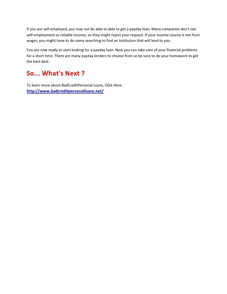 Bad credit personal loans 1 - 웹