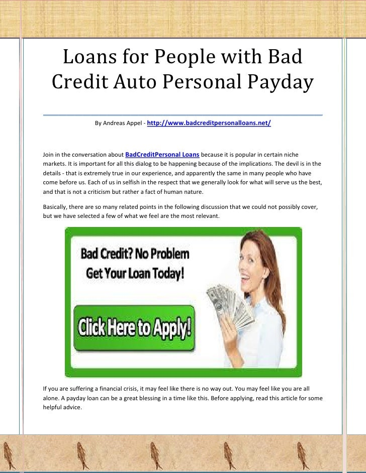 pay day advance lending products little appraisal of creditworthiness