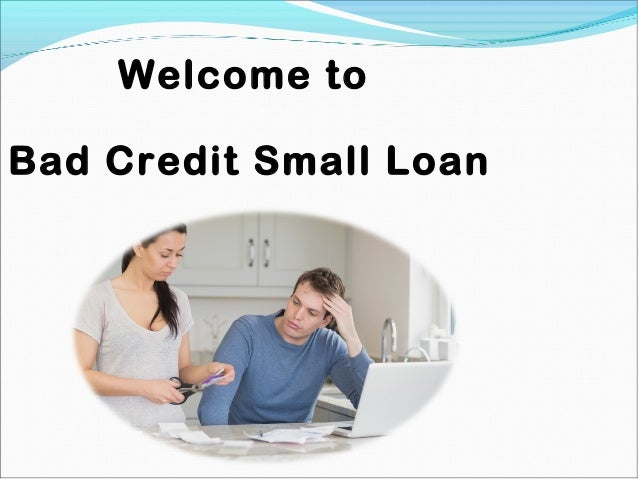 Personal Loans For Bad Credit >> Bad Credit Small Loans Immediate Approval Personal Loans Online