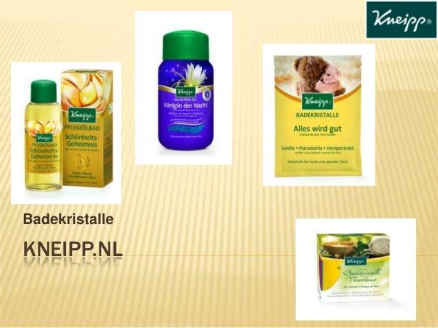 Badekristalle  KNEIPP.NL