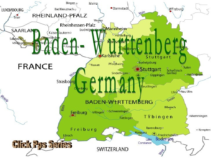 Baden- Wurttenberg  Germany Click Pps Series