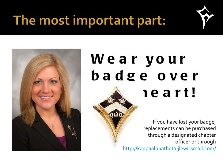 What Not to Wear: Badge Attire Dos and Donts by Susie Sigma