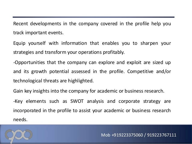 sharp a strategic analysis Case studies introduction a summary of the case analysis process c-2 preparing an effective case analysis - the full analysis - the full story in most strategic management courses, cases are used extensively as a teaching tool1 a key reason is that.
