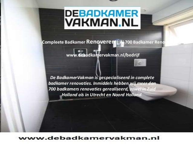 Badkamer Verbouwen Utrecht : Badkamer verbouwen reeds badkamers verbouwdbadkamers