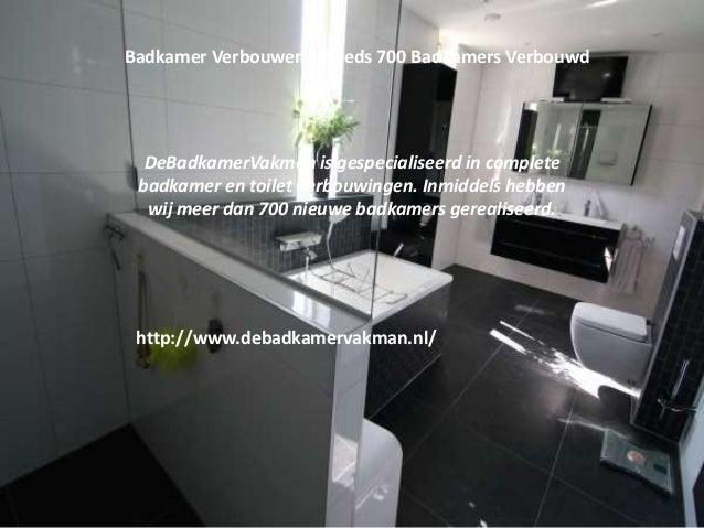 Complete Nieuwe Badkamer : Badkamer verbouwen nieuwe badkamer