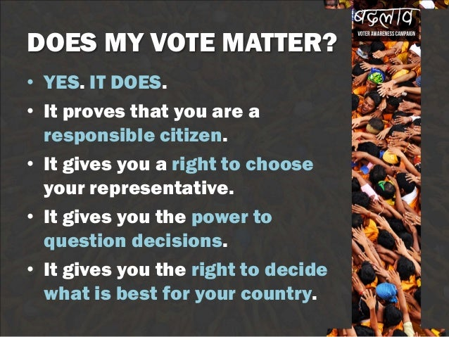 why you should participate in voting We've got answers to the basic questions about how to cast a ballot in  voters in  counties that do not participate in the program must vote in.