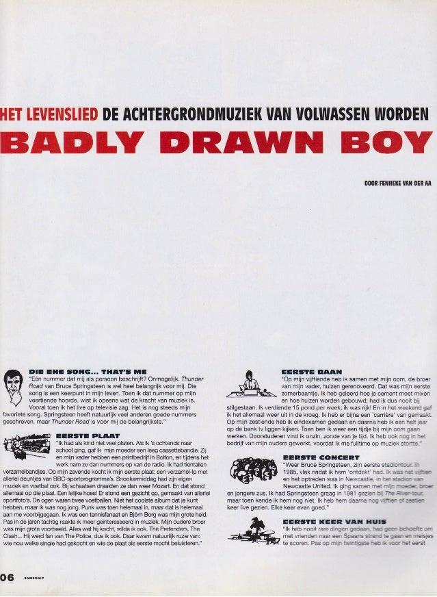 Badly Drawn Boy - Samsonic