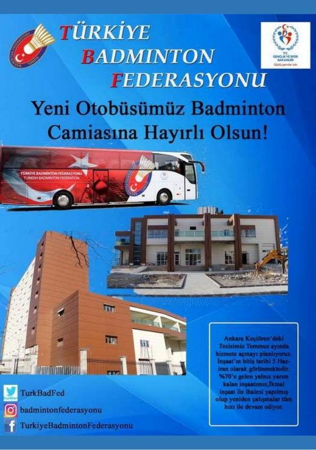 Türkiye Badminton Federasyonu - E-Dergi Sayı: 6