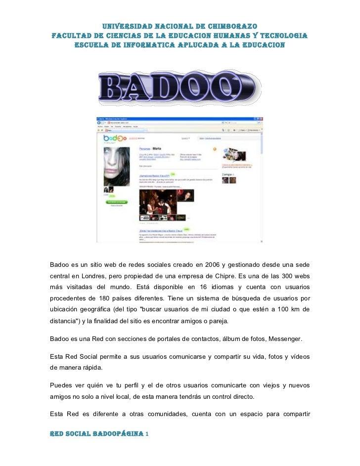 Badoo site web