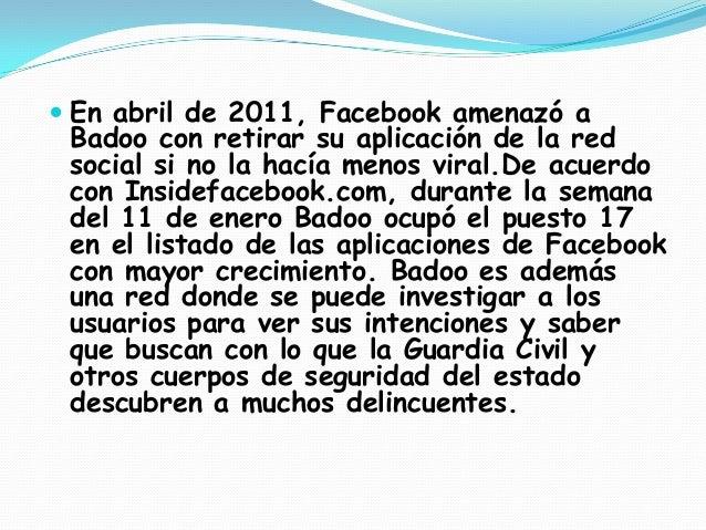 FUNCIONALIDAD. Badoo es una popular red social o comunidad virtual de origen inglés. Tal como otras redes sociales, este ...