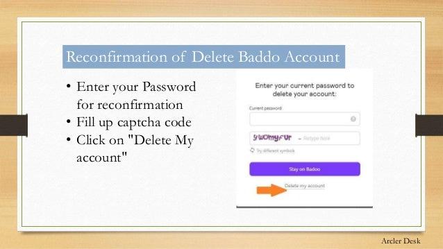 Badoo login password