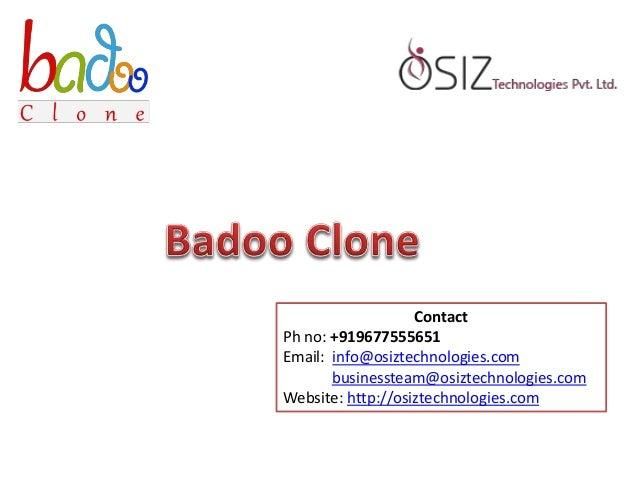 how to contact badoo admin