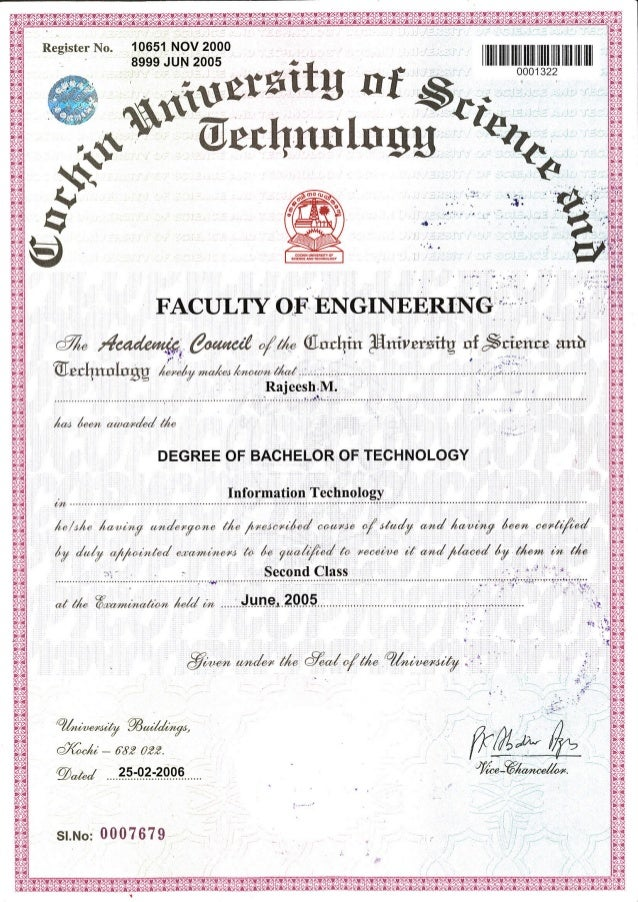 RM - B.TEch Degree Certificate - Attested