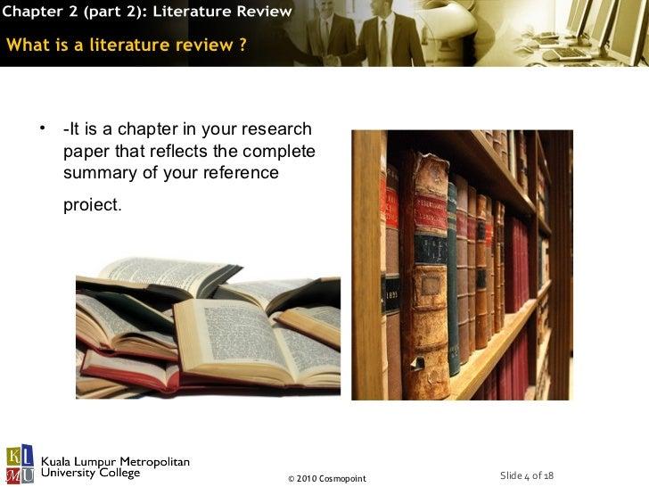 chaper ii related literature