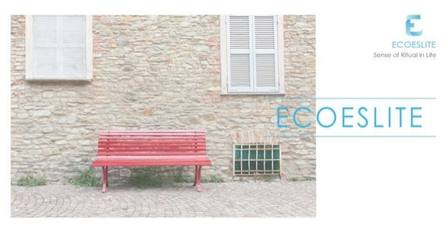 Ecoeslite Company Profile20160901