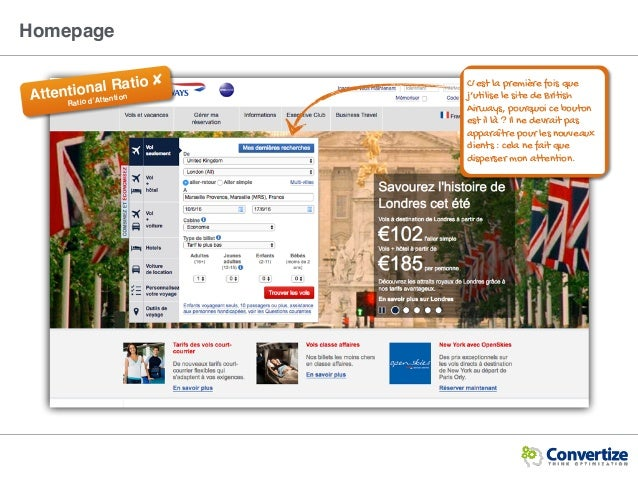 Homepage C'est la première fois que j'utilise le site de British Airways, pourquoi ce bouton est il là ? Il ne devrait pas...