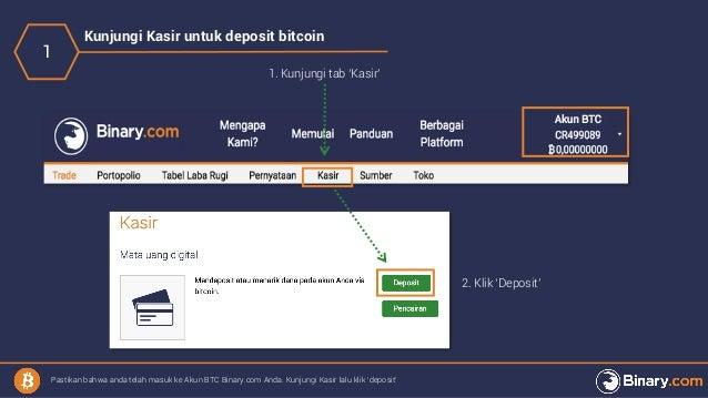 cara bikin akun bitcoin wallet