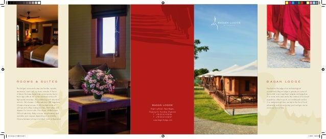 Bagan boutique hotel information bagan lodge brochure for Brochure design for boutiques