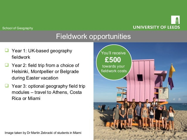  Year 1: UK-based geography fieldwork  Year 2: field trip from a choice of Helsinki, Montpellier or Belgrade during East...