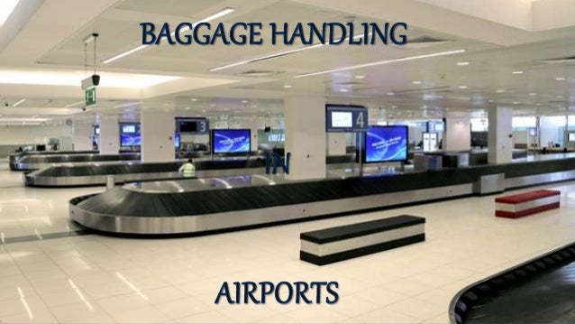 Airport Baggage Handling Scan : Baggage handling in airports sortation