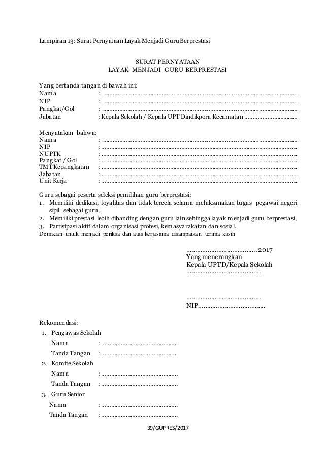 13+ Contoh Surat Pernyataan Pembelajaran Tatap Muka | Lucn ...