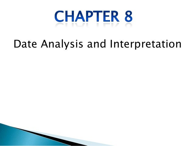 Date Analysis and Interpretation