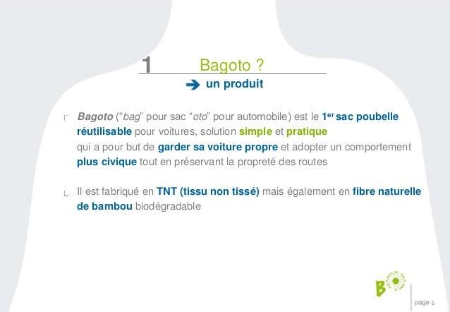 """5  1  Bagoto ?  un produit  Bagoto (""""bag"""" pour sac """"oto"""" pour automobile) est le 1er sac poubelle  réutilisable pour voitu..."""