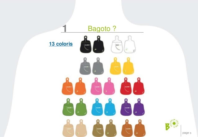 9  1 Bagoto ?  13 coloris