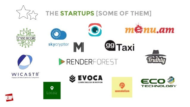 THE STARTUPS [SOME OF THEM]