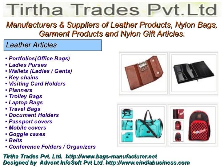 Bags manufacturer manufacturers colourmoves