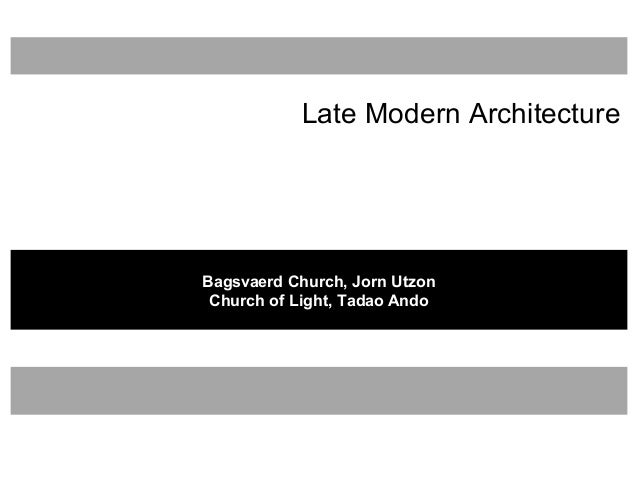 Modern Architecture Ppt