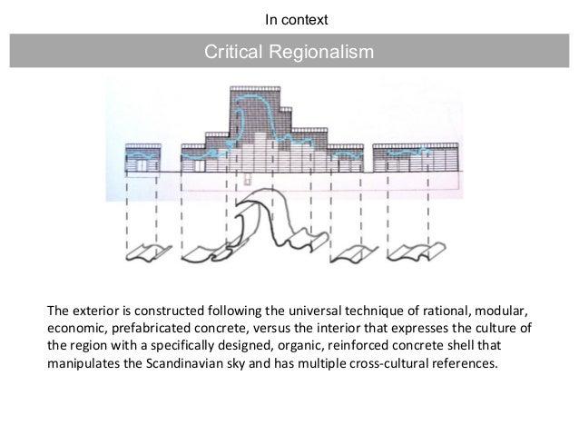 Late Modern Architecture - Critical comparision