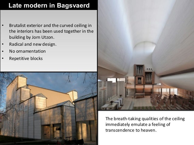 Late Modern Architecture - Critical comparision