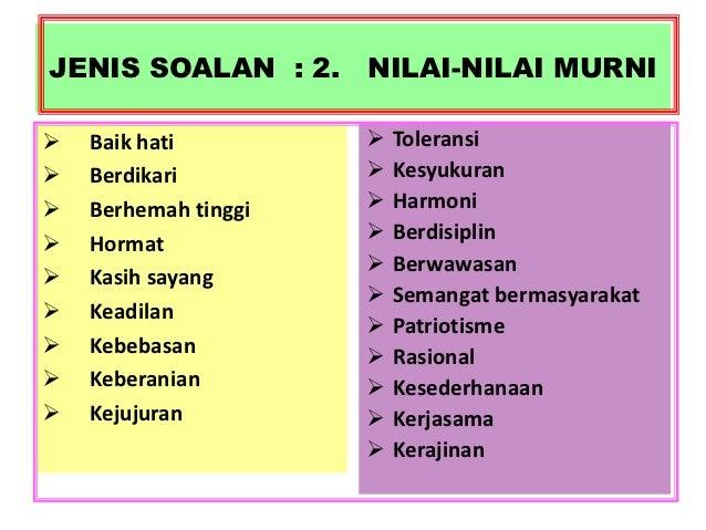 Contoh Gurindam Nilai Murni Feed News Indonesia