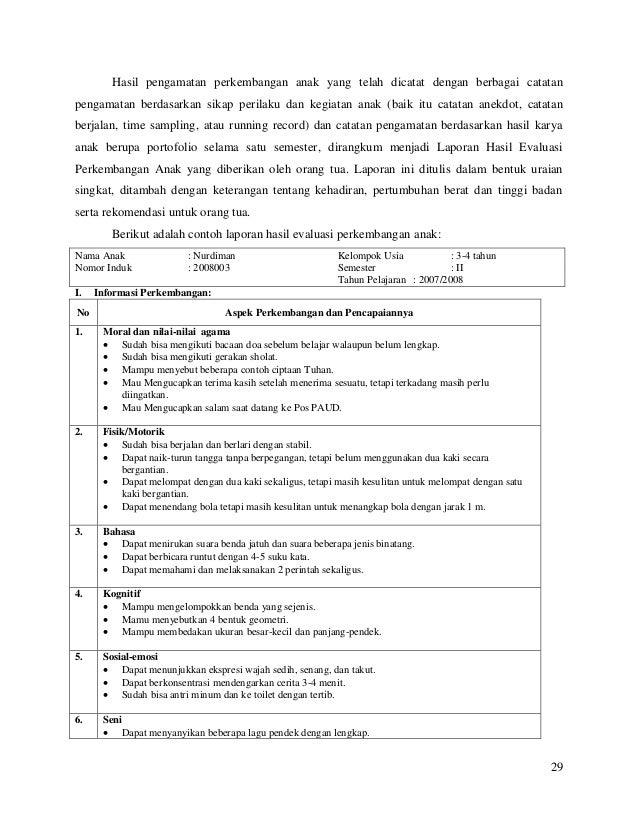 Bahan 1 Evaluasi Anak Usia Dini