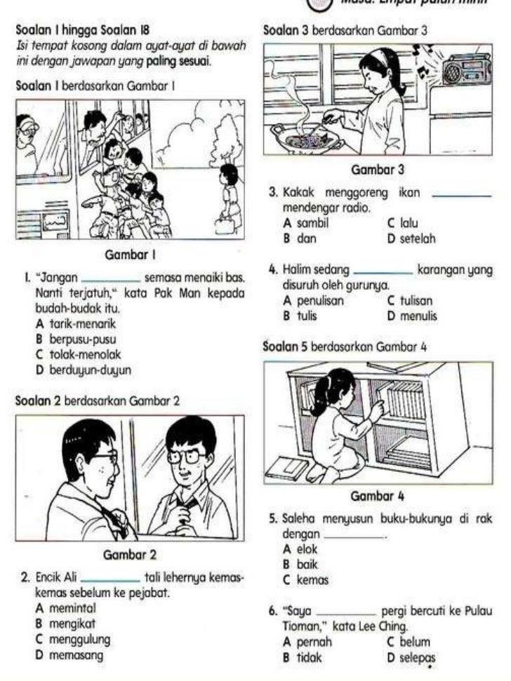 Bahasa Melayu Tahun 5 Slide 1