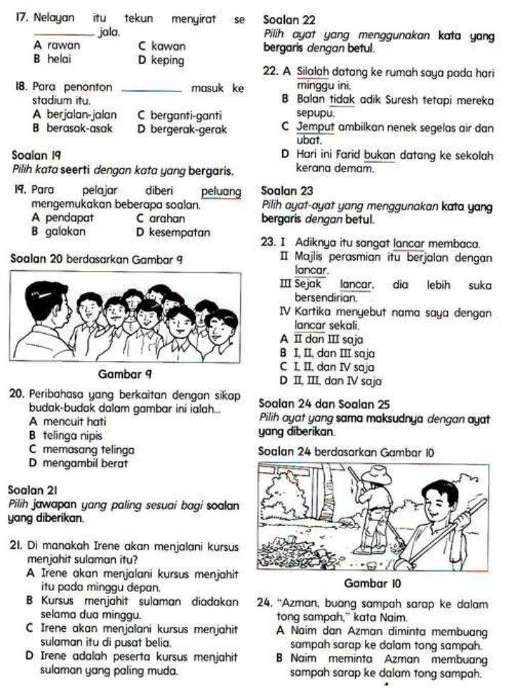 Bahasa Melayu Tahun 5 Slide 3