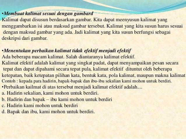 Contoh Deskripsi Seseorang Dalam Bahasa Indonesia Contoh Poll