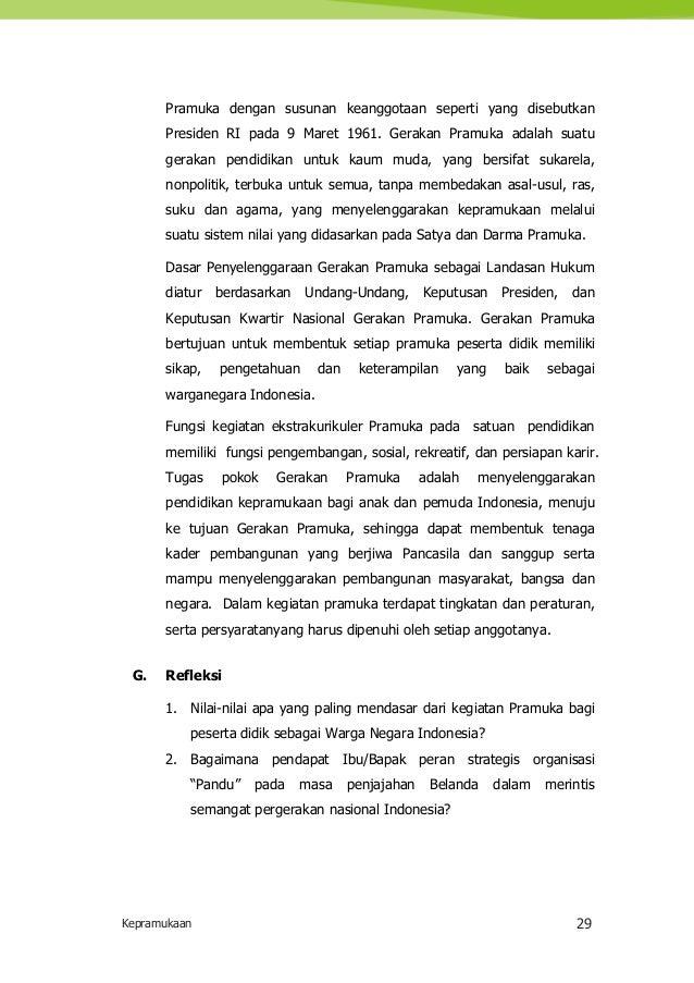 Pedoman Pelaksanaan Kegiatan Ekstrakurikuler di Sekolah / Madrasah