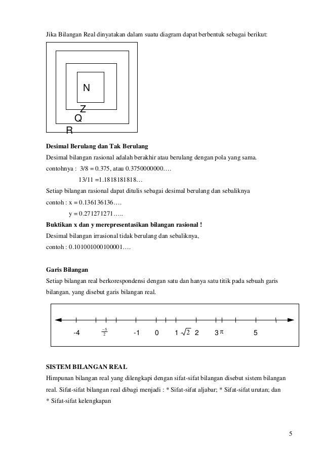 Bahan ajar matematika dasar universitas 5 5 jika bilangan real dinyatakan dalam suatu diagram ccuart Gallery