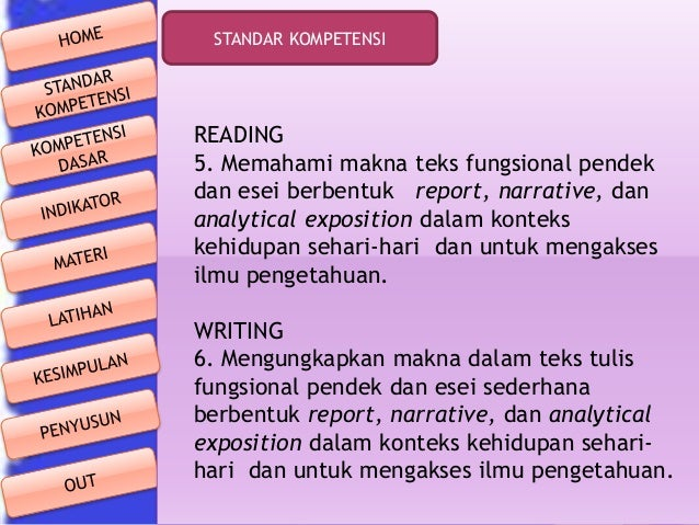 Bahan Ajar Narrative Text