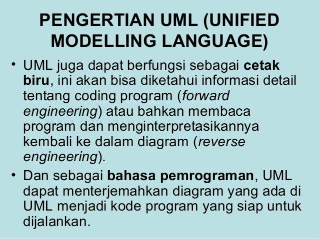 MATERI UML(Unified Modelling Language)