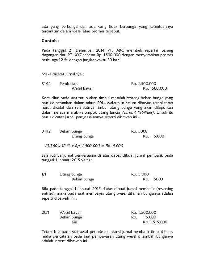 Bahan Kuliah Pengantar Akuntansi Ii Utang Jk Pendek