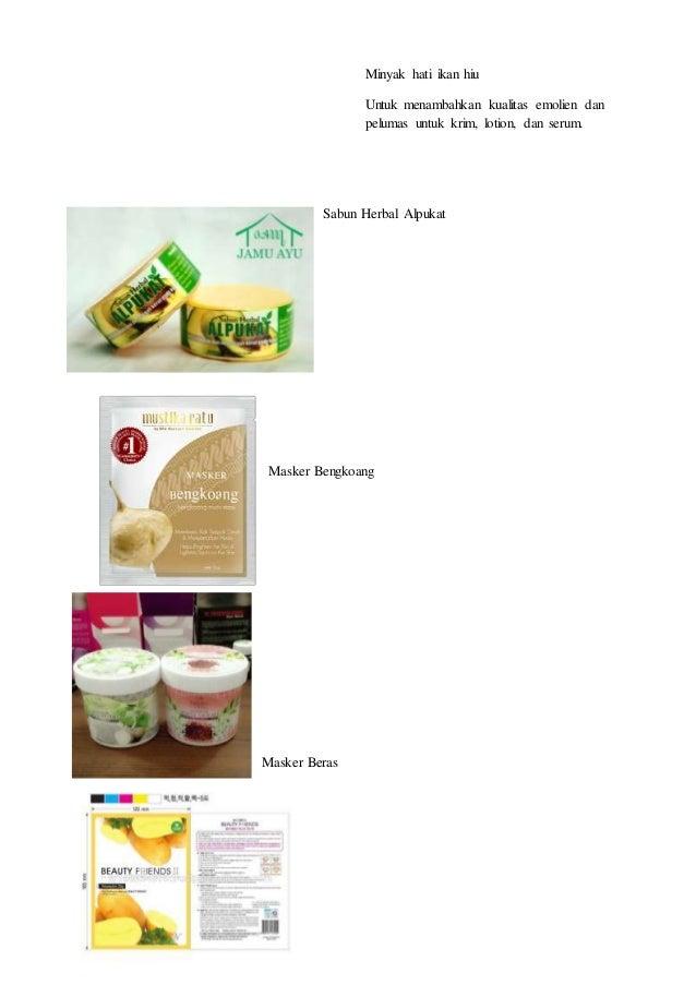 Minyak hati ikan hiu Untuk menambahkan kualitas emolien dan pelumas untuk krim, lotion, dan serum. Sabun Herbal Alpukat Ma...