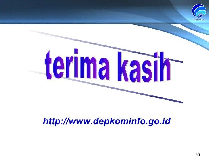 http://www.depkominfo.go.id terima kasih